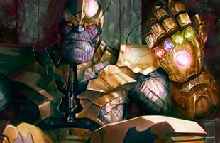 Thanos With Infinity Gauntlet Thanos The Infinity Gauntlet By Mattdemino On Deviantart