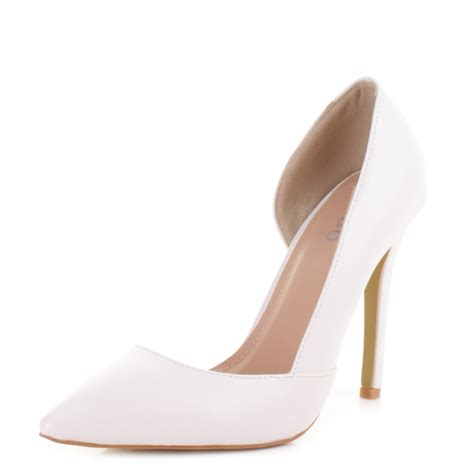 white stiletto high heels white stiletto high heels 28 images white high heel