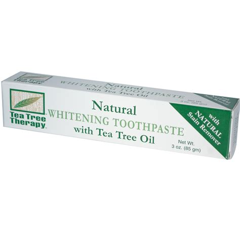 toothpaste whitening tea tree therapy natural whitening toothpaste with tea