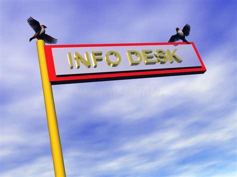 information bureau signe d information bureau d information illustration