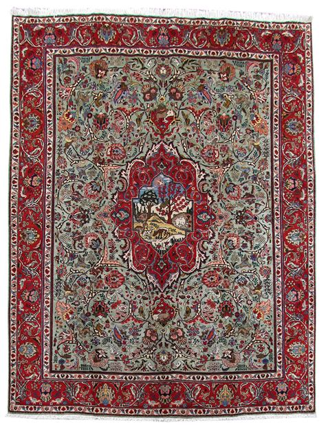 Wool Handmade Rugs - tabriz 100 wool collection handmade rug 9 x 12