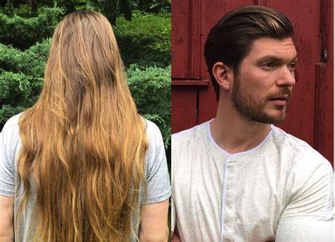 long hair vs short hair long hair vs short hair men s incredible transformations