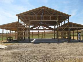 pole barn house designs strikking pole building framing with wooden materials as