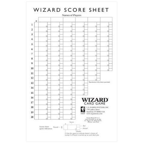 500 card score sheet template paizo wizard large scorepad