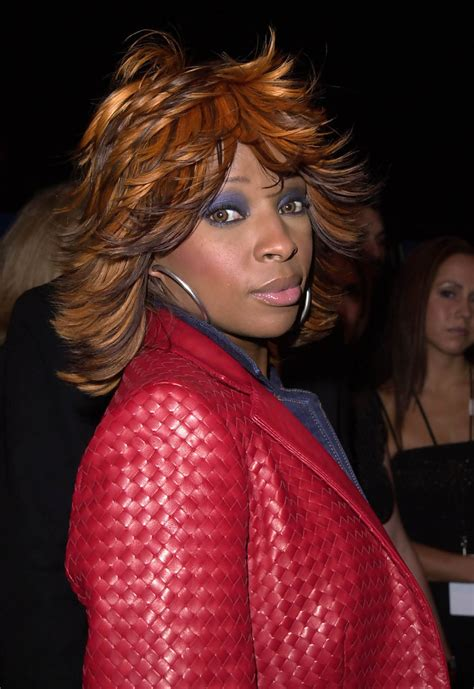 mary j natural hair mary j blige photos photos bad hair day 2002 zimbio
