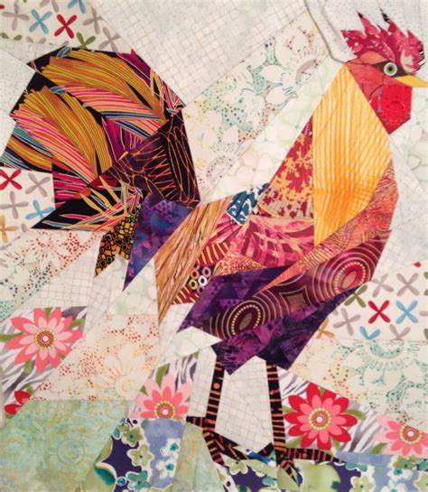 quilt pattern rooster chicken quilts on pinterest chicken quilt roosters and hens