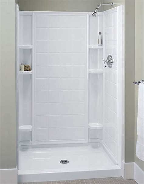 Plumbing For Shower Stall by Plumbing For Shower Stalls By Sterling Useful Reviews Of
