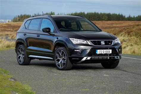 seat ateca black seat ateca fr 2 0 tsi 4drive reviews complete car
