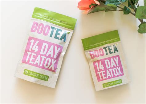 Bootea Detox by Bootea 14 Day Teatox Review Side Effects Results