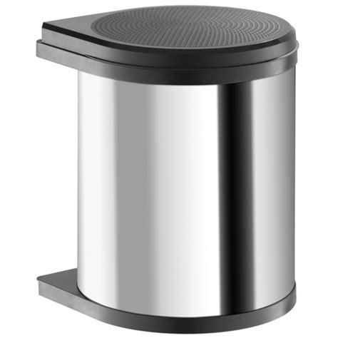 Kitchen Cabinet Door Handles And Knobs hailo kitchen under sink waste bin mono 15l