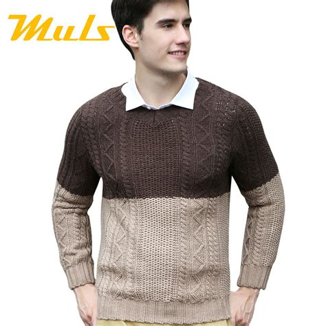 Stay Warm With Winter Sweaters by Pullover Sweater Casual Style Large Size Wool Sweater