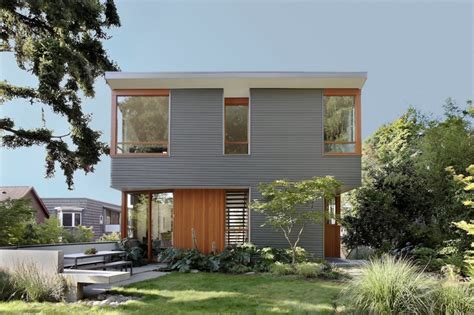 corrugated house designs corrugated steel house with warm wood details throughout