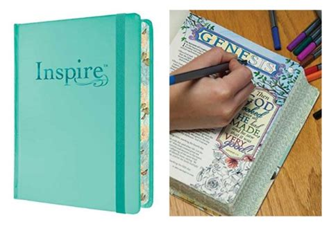 inspire praise bible nlt books pre order inspire bible nlt the bible for creative