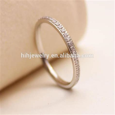 simple wedding ring sets gold plated rings without stones