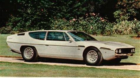 70s Lamborghini Lamborghini Espada 70s Cars