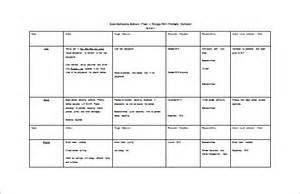 school improvement plan template uk school plan template 11 free sle exle