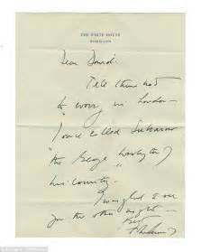 Letter Closing In Him Jackie O S Letters To Besotted Lord Revealed Daily Mail