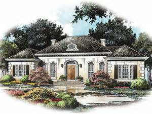 Country French House Plans One Story French Country House Plan With 2785 Square Feet And 4
