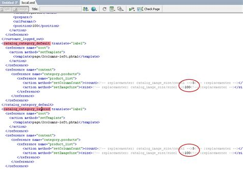 magento default layout xml magento expert system сustomize the display of all