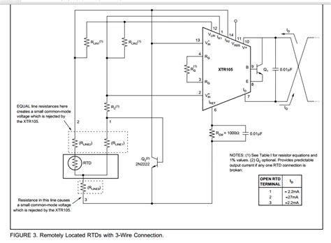 3 wire rtd lead balance wiring diagrams wiring diagram