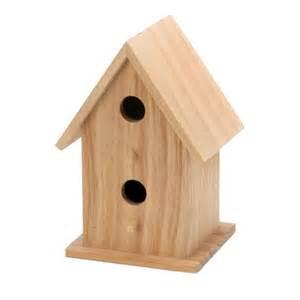 wooden bird houses decorative bird house decker unfinished wooden