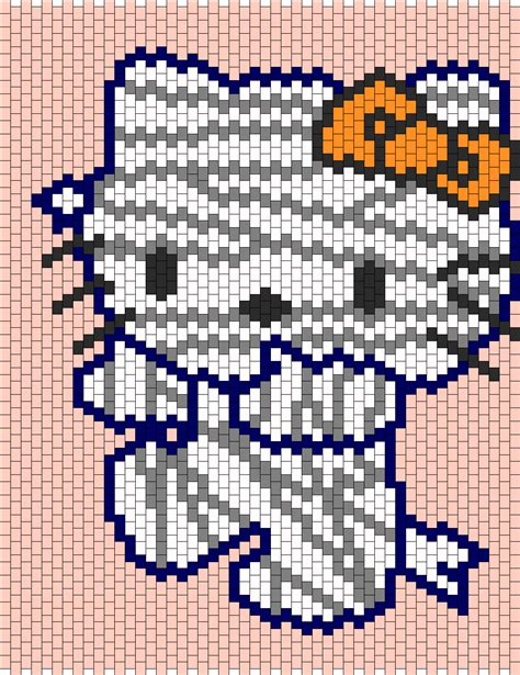 beaded hello pattern mummy hello bead pattern peyote bead patterns