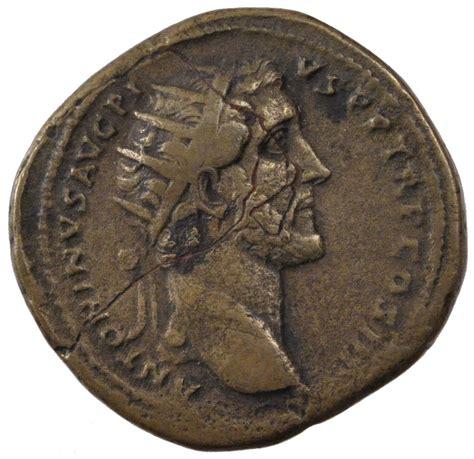 le comptoire des monnaies 60501 antonin le pieux sesterce cohen 717 ttb