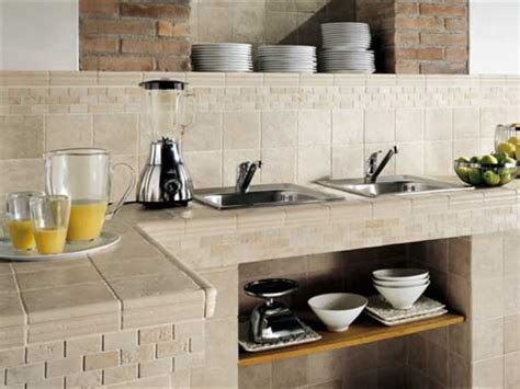 Tile Kitchen Countertops Hgtv Tiled Kitchen Countertops