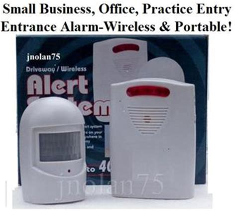 Business Door Chime by Wireless Small Business Motion Activated Entrance Door