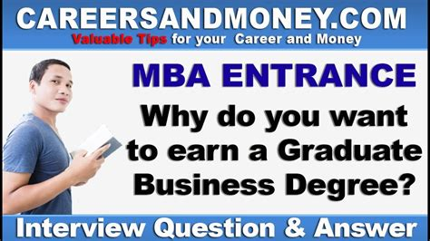 Why Do An Mba Now by Why Do You Want To Study Mba Mba Entrance Q
