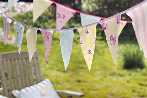 Fairy Home Decor how to make no sew party bunting hobbycraft blog