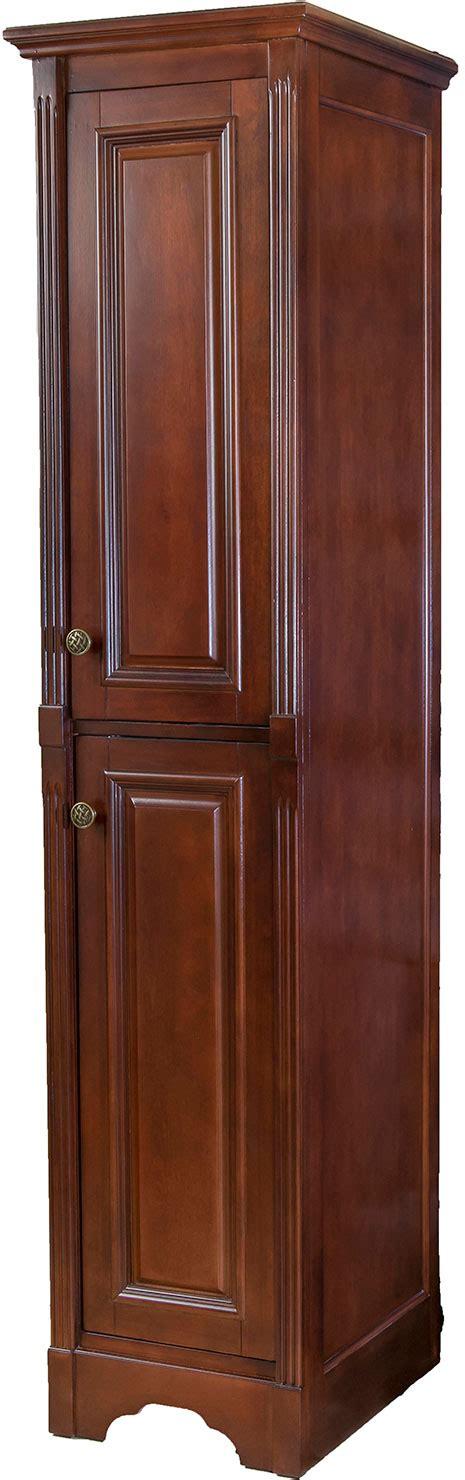 cherry linen cabinet walnut ridge cabinetry reana linen cabinet cherry with