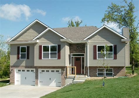 split level garage attractive split level home plan 75005dd 1st floor