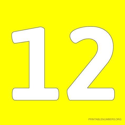 printable numbers 1 12 printable number 16 yellow printable number 17 yellow