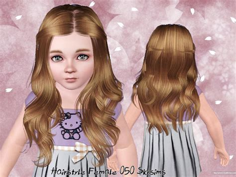 Sims 3 Toddler Hair | skysims hair toddler 050