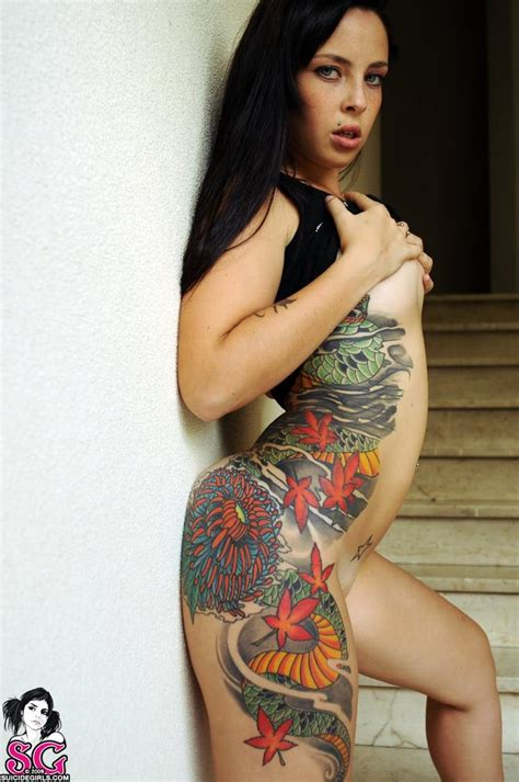 libro suicidegirls no 4 girls via topoftheline99 com inked up