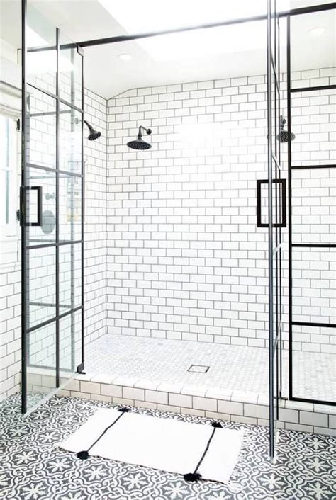 Bathroom With Black And White Tile by Color Combinations Black Whitebecki Owens