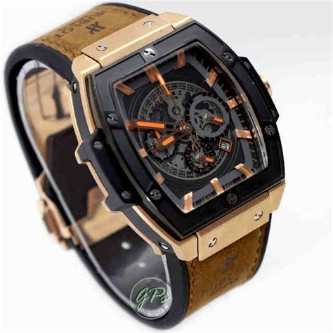 Jam Rolex Daytona Grade Aa Chrono Date Active Gold Silver Cowok Pria jual hublot senna chion 88 ltd rosegold brown punky store