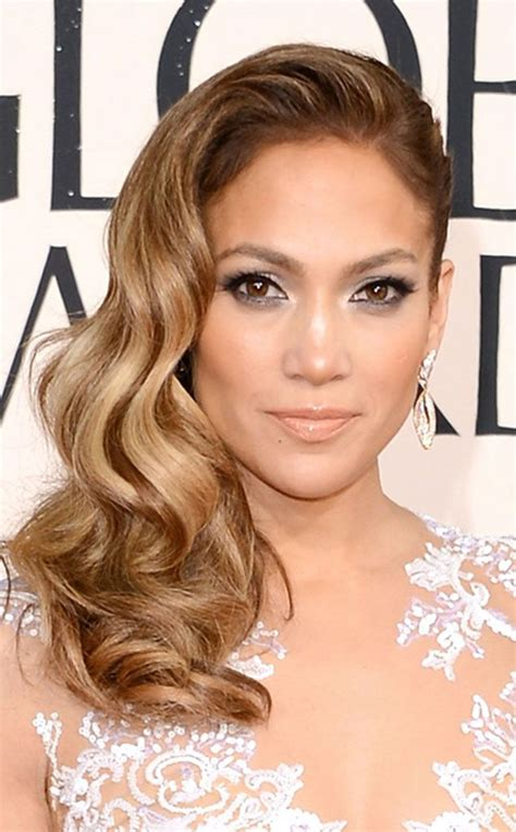 hairstyles golden globes jennifer lopez from sally hershberger rates the celeb hair