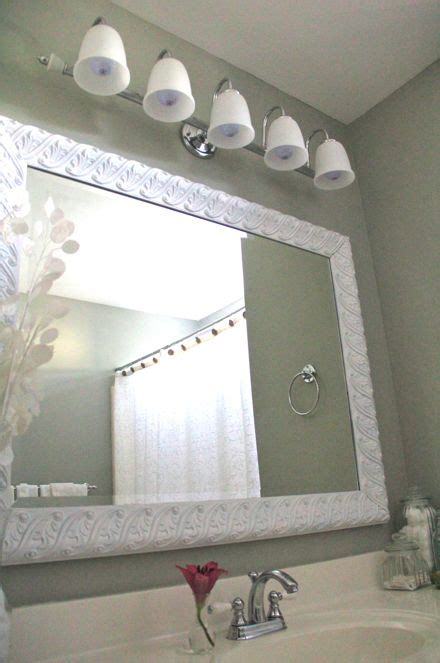 bathroom mirror makeovers 28 best images about diy on shell