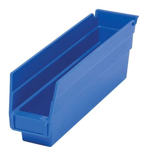 Plastic Shelf Bins by Nesting Plastic Shelf Bins Qsb100 Small Parts Storage