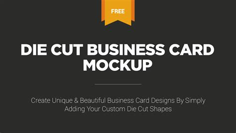 Die Cut Templates For Business Cards by Die Cut Business Cards Uk Images Business Card Template