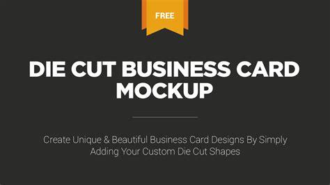 Die Cut Business Cards Templates by Die Cut Business Cards Uk Images Business Card Template