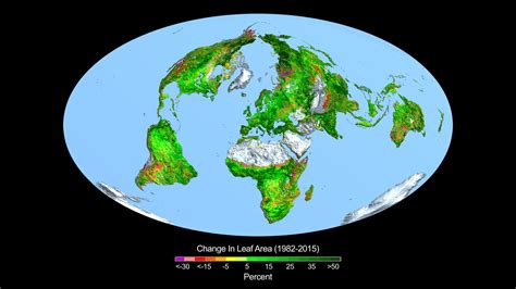 blood and earth modern carbon dioxide fertilization greening earth study finds nasa