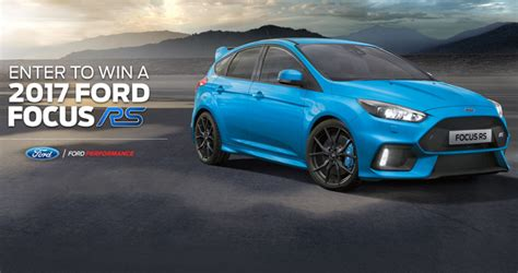 Company Sweepstakes 2017 - ford what s your focus sweepstakes 2017 win a 2017 ford focus rs