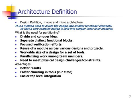 design guidelines definition style architectural definition ppt soc design flow