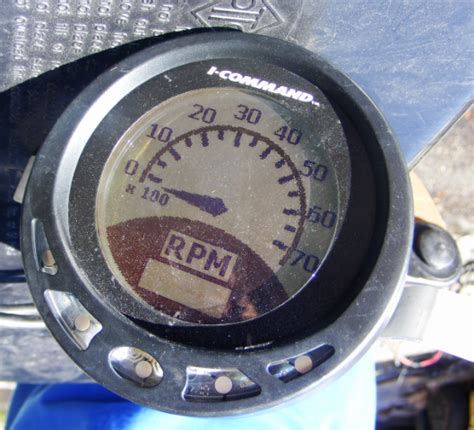 johnson evinrude  command multi function gauge instrument