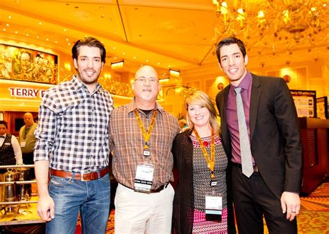 Budget Blinds Com Tim And Kim Long Met The Property Brothers At The Budget
