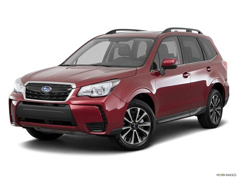 subaru forester red 2017 2017 subaru forester red 200 interior and exterior images
