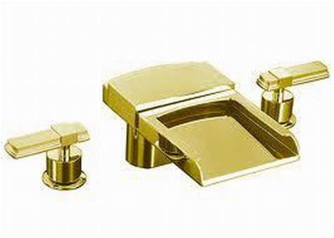 Kohler Alterna Faucet by Kohler Alterna Lever Handles Tub Faucet K 6506 4 Pb Ebay